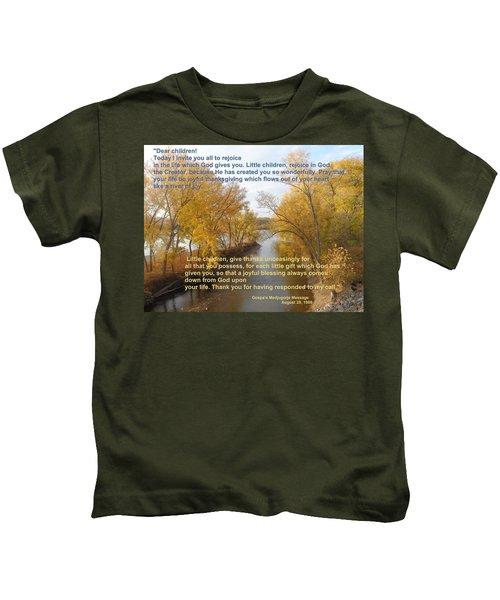 River Of Joy Kids T-Shirt
