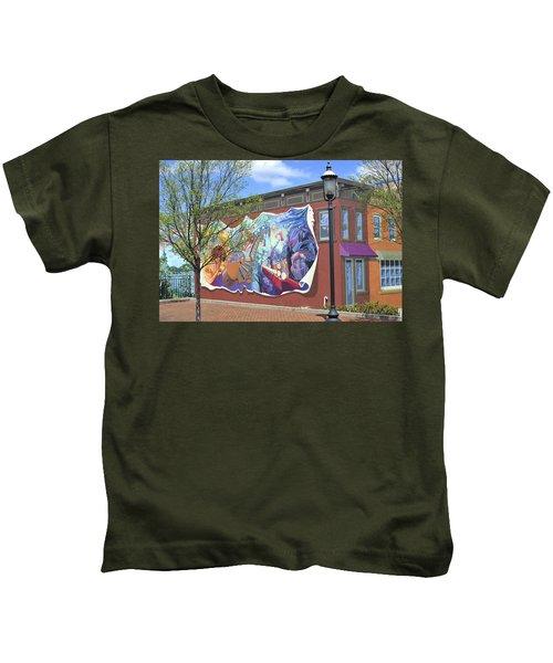 Riverside Gardens Park In Red Bank Nj Kids T-Shirt