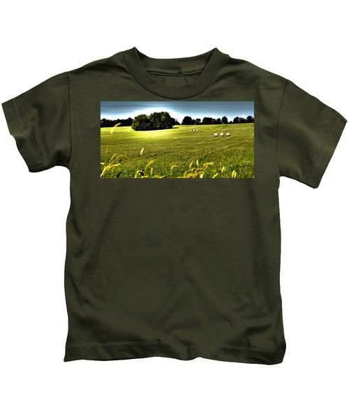 Rolling Pastures Kids T-Shirt