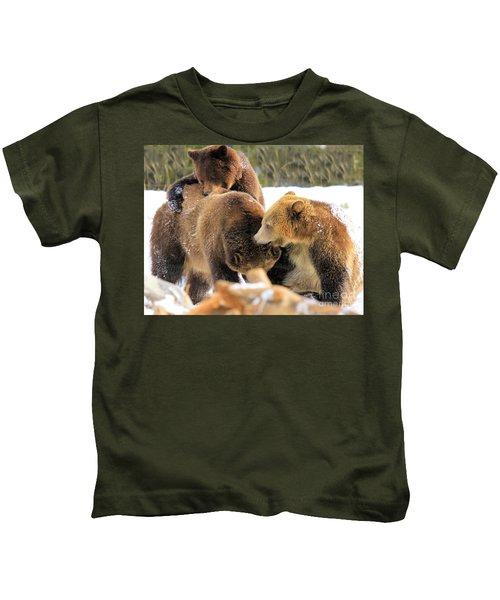Rough-housing Kids T-Shirt