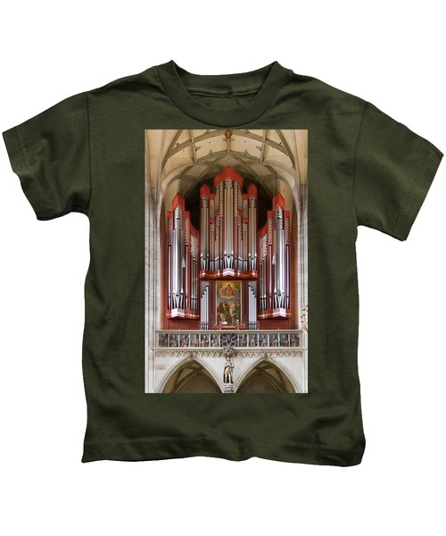 Royal Red King Of Instruments Kids T-Shirt
