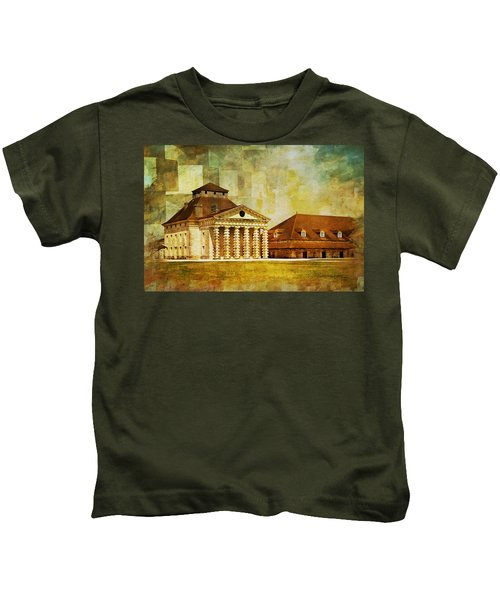 Royal Saltworks At Arc-et-senans Kids T-Shirt