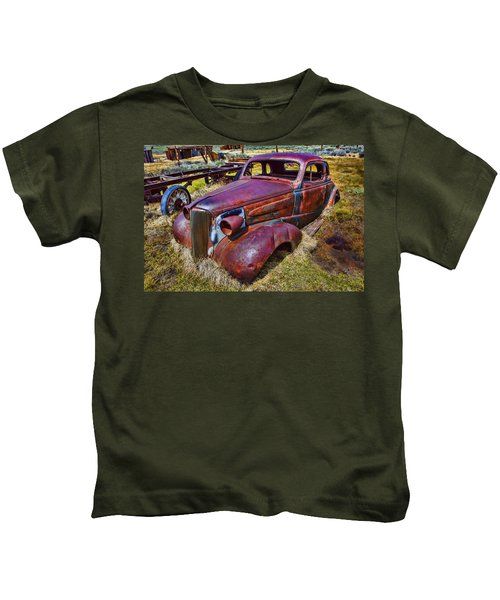 Rusting Away Auto Kids T-Shirt