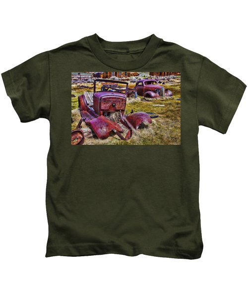Rusty Autos Kids T-Shirt