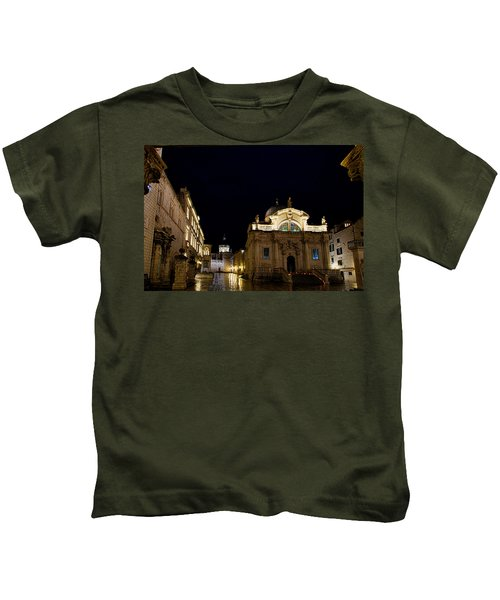 Saint Blaise Church - Dubrovnik Kids T-Shirt
