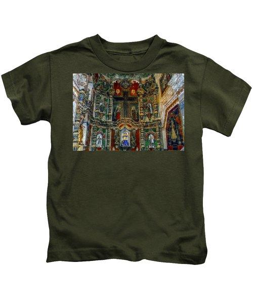 San Xavier Mission Kids T-Shirt