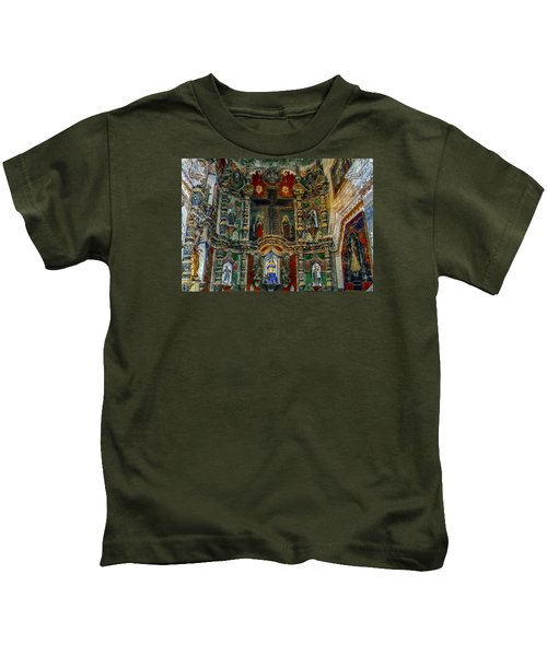 San Xavier Mission Kids T-Shirt