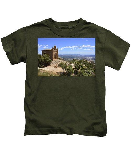 Sant Joan Chapel Spain Kids T-Shirt