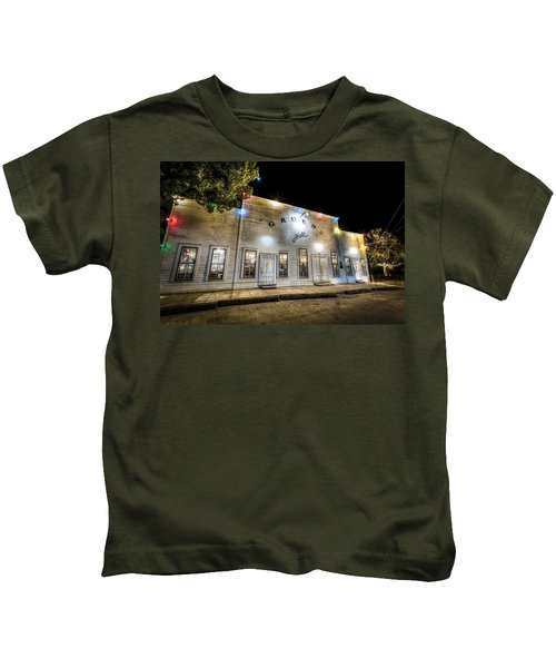 Saturday Night At Gruene Hall Kids T-Shirt