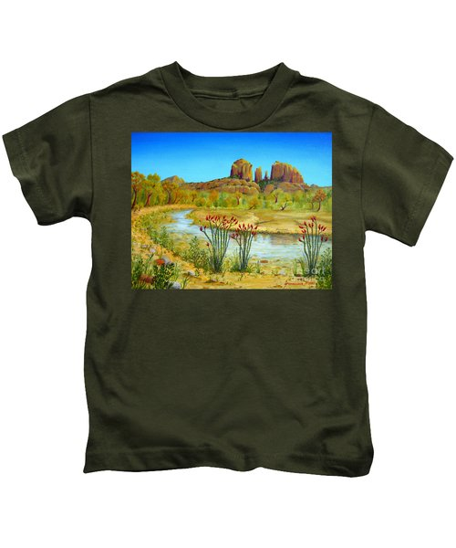 Sedona Arizona Kids T-Shirt