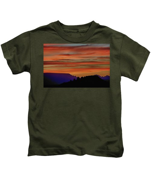 Sedona Az Sunset 2 Kids T-Shirt
