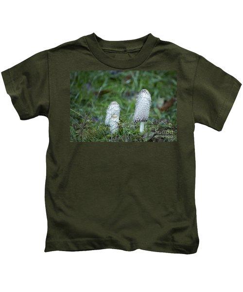 Shaggy Cap Mushroom No. 3 Kids T-Shirt