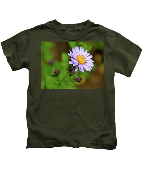 Showy Aster Kids T-Shirt