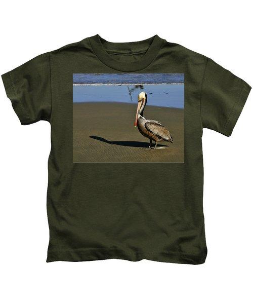 Shy Pelican Kids T-Shirt