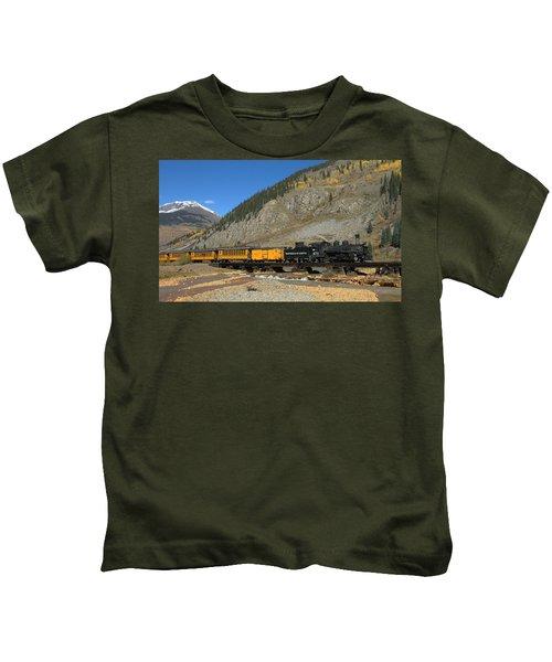 Silverton Train Kids T-Shirt