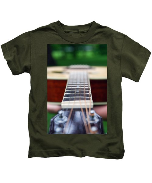 Six String Music Kids T-Shirt