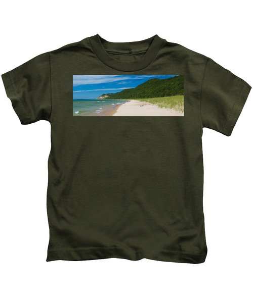 Sleeping Bear Dunes National Lakeshore Kids T-Shirt