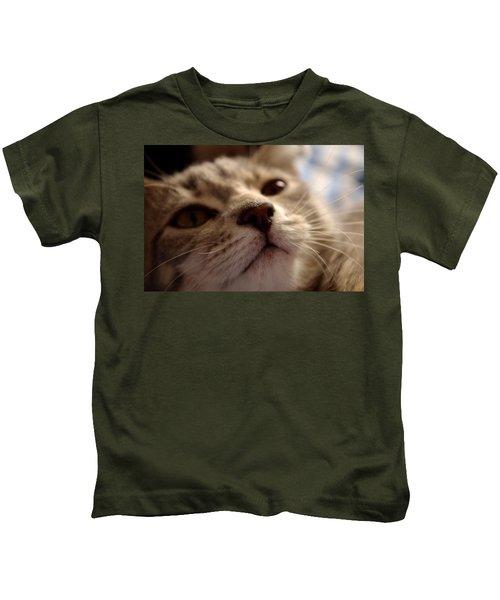 Sleepy Kitten Kids T-Shirt