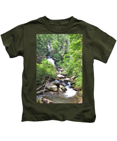 Smith Creek Downstream Of Anna Ruby Falls - 3 Kids T-Shirt