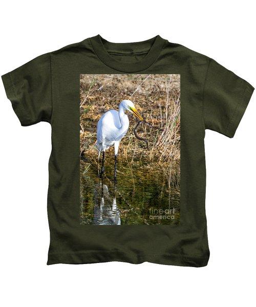 Snake For Lunch Kids T-Shirt