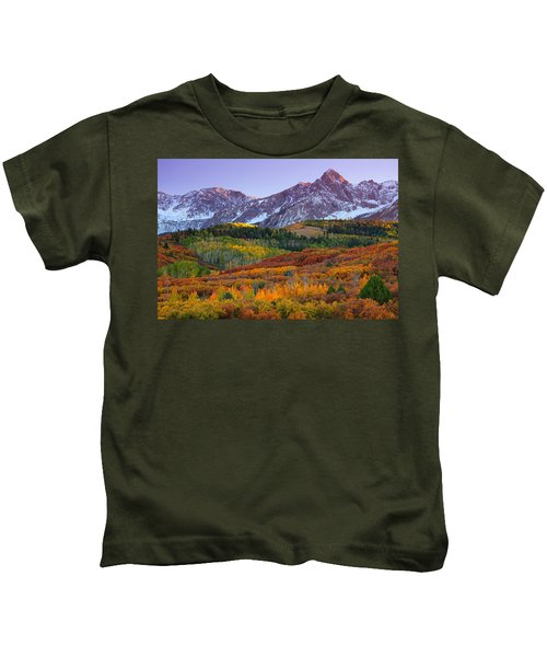 Sneffels Sunrise Kids T-Shirt