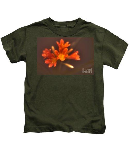 Soft Focus Kaffir Lily Kids T-Shirt