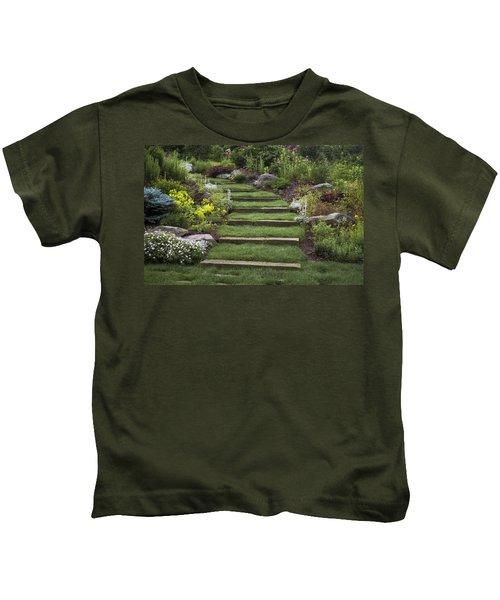 Soft Stairs Kids T-Shirt