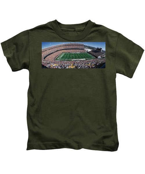 Sold Out Crowd At Mile High Stadium Kids T-Shirt