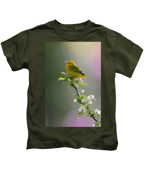 Song Of Spring Kids T-Shirt