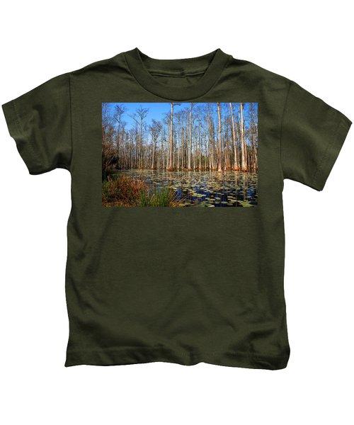 South Carolina Swamps Kids T-Shirt