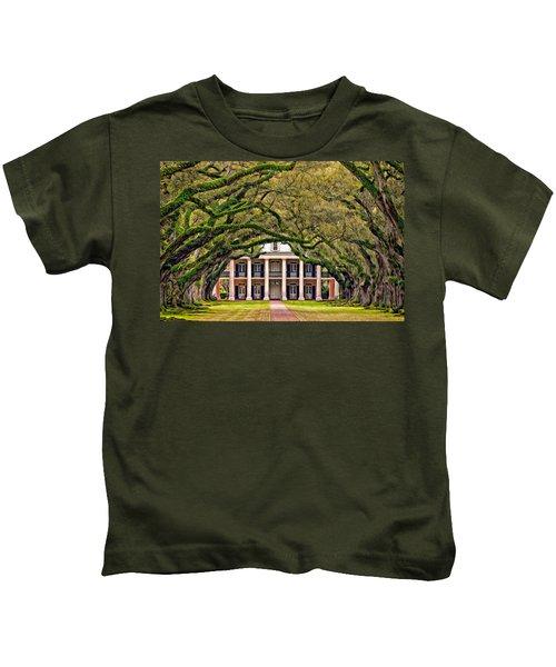 Southern Class Oil Kids T-Shirt
