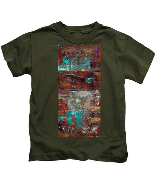 Southwest Horses Kids T-Shirt