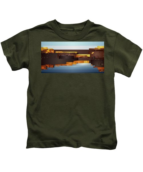 Southwest Sunrise 1 Kids T-Shirt
