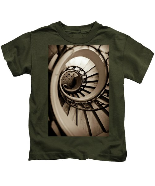 Spiral Staircase Kids T-Shirt