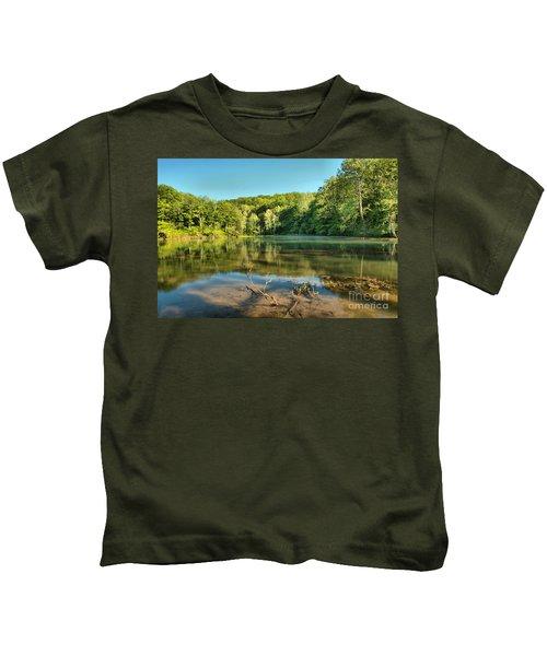 Spring Mill Lake Kids T-Shirt
