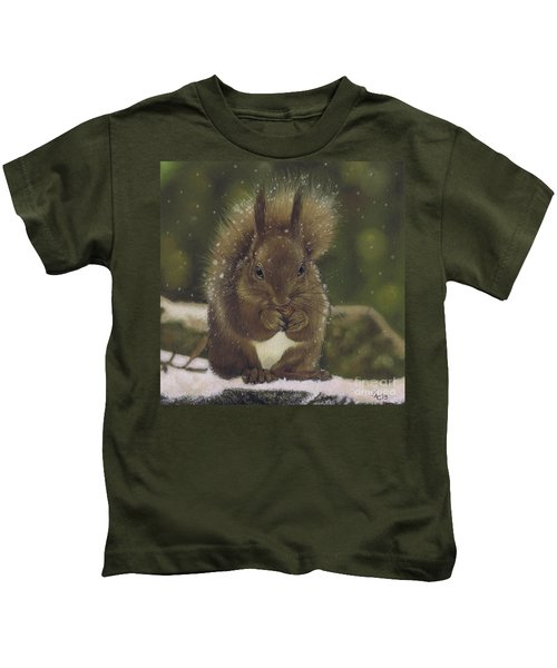 Squirrel Nutkin Kids T-Shirt