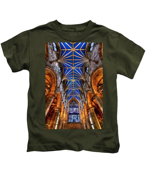 St Giles Cathedral Edinburgh Kids T-Shirt