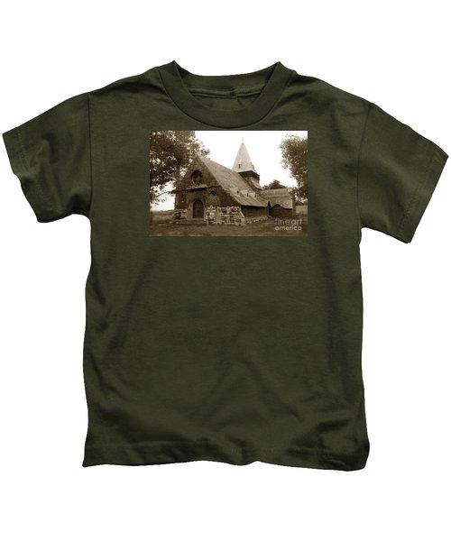 St. Johns Chapel Del Monte Monterey California 1895 Kids T-Shirt