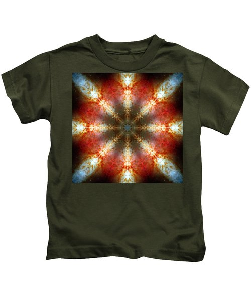 Starburst Galaxy M82 II Kids T-Shirt