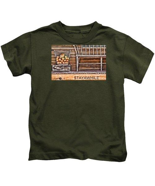 Stayawhile Kids T-Shirt