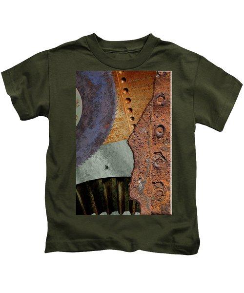 Steel Collage Kids T-Shirt