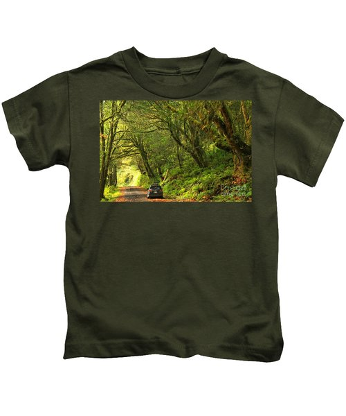 Subaru In The Rainforest Kids T-Shirt