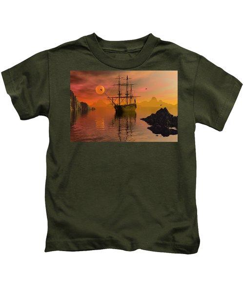 Summer Anchorage Kids T-Shirt