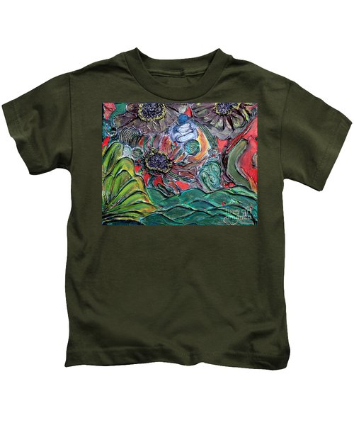 Summertime Bliss.. Kids T-Shirt