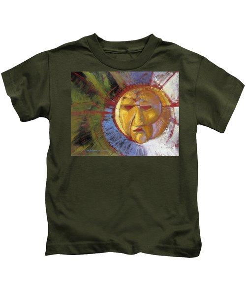 Sun Mask Kids T-Shirt