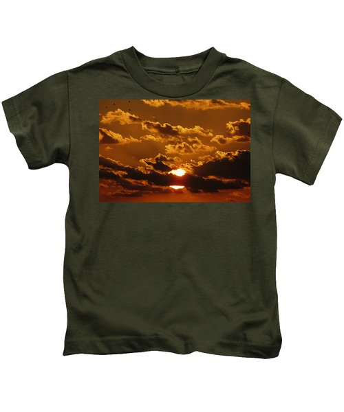 Sunset 5 Kids T-Shirt