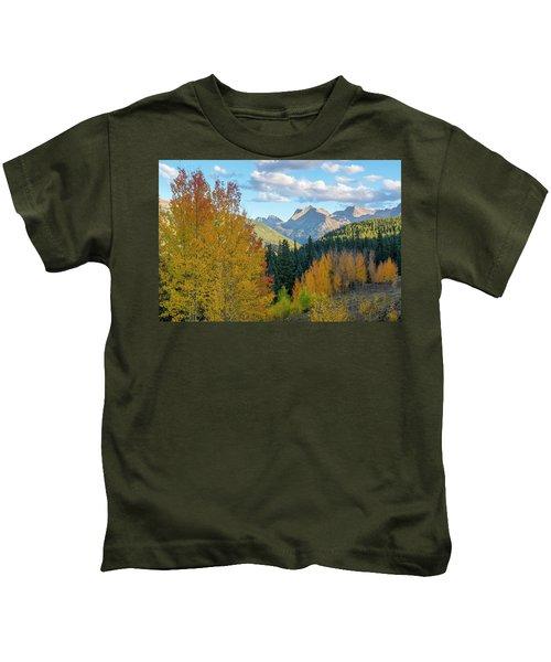Sunset Over Grenadier Range Kids T-Shirt