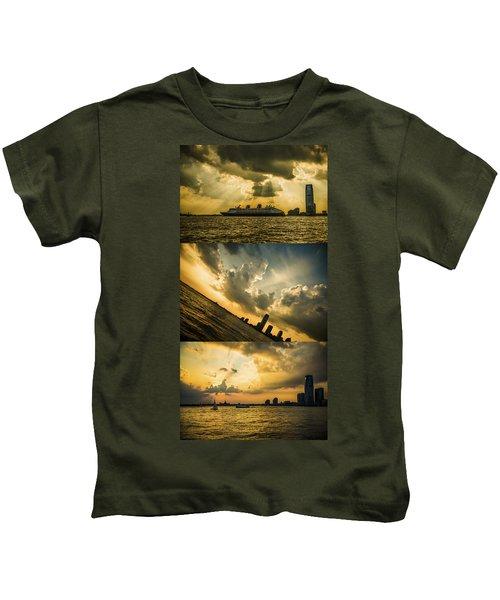 Sunset Trilogy Kids T-Shirt