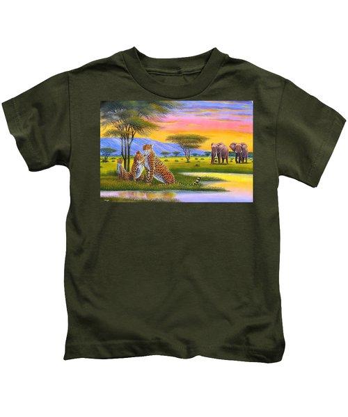 Sunset Watch Kids T-Shirt