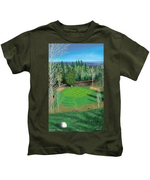 Superior National Golf Canyon 8 Kids T-Shirt